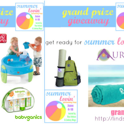 Summer Lovin' Giveaway Hop June-4-18