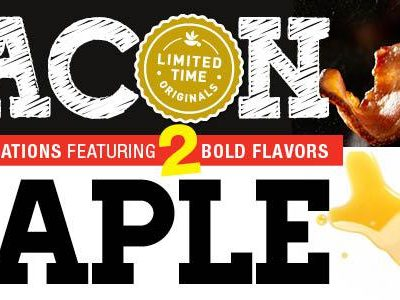 Bacon & Maple Limited Time Originals