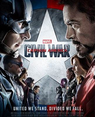 Marvel's Captain America: Civil War ~ New Poster & Trailer!