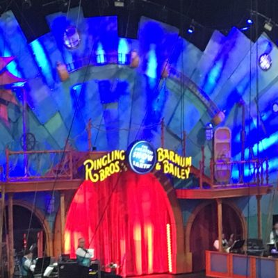 Family Night Out At The Circus