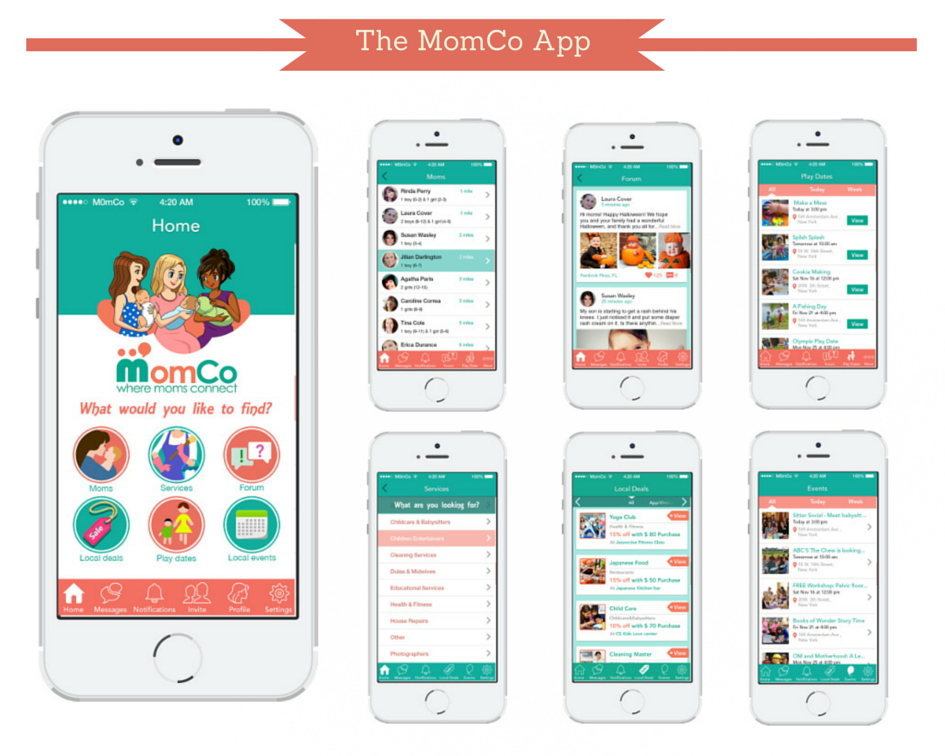 Apps for moms to meet