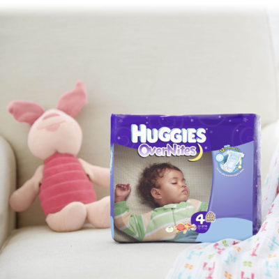 Sleep Through The Night Thanks to Huggies® OverNites Diapers