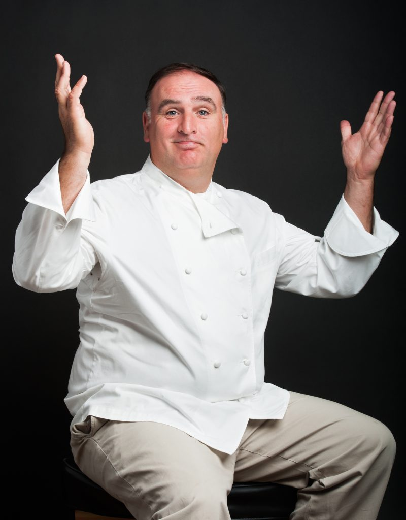Chef Jose Andres Portraits