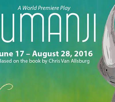 See Jumanji at the Adventure Theatre MTC!