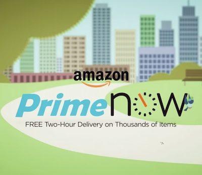 Amazon's Prime Now