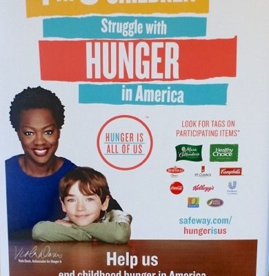 Hunger Is~Help Make A Difference!