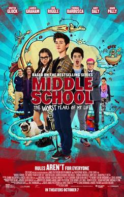 Advance Screening~MIDDLE SCHOOL: The Worst Years of My Life
