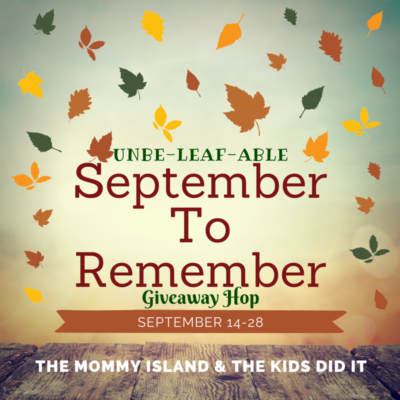September to Remember Giveaway!