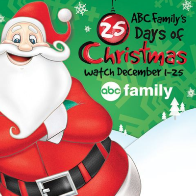 Freeform's 25 Days of Christmas~ Full Schedule!