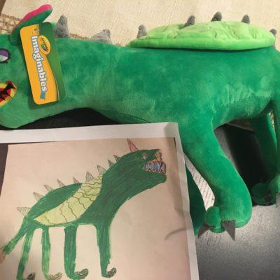 Imaginables~Turn Kid's Art Into Plush!