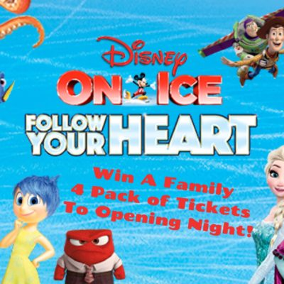 Disney On Ice~Follow Your Heart Ticket Giveaway!