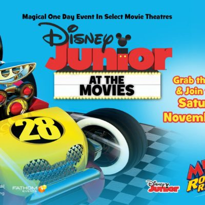Disney Jr At The Movies~Get Your Tickets!