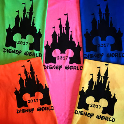 Matching Family T-Shirts~A Disney Must!