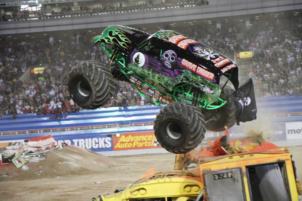 Monster Jam Triple Threat Comes To Dc Mom The Magnificent