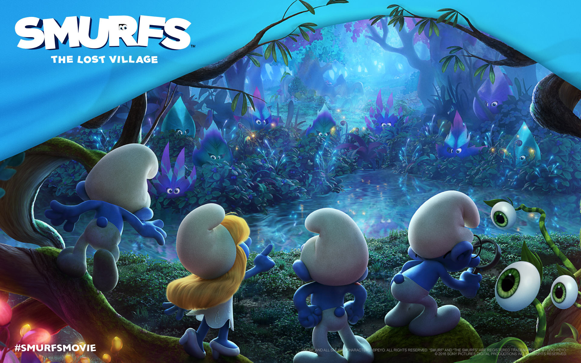 SMURFS The Lost Village Activity Sheets! - Mom the Magnificent
