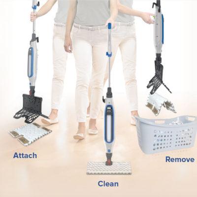 Shark Genius Steam Mop~The Power of Steam Clean!
