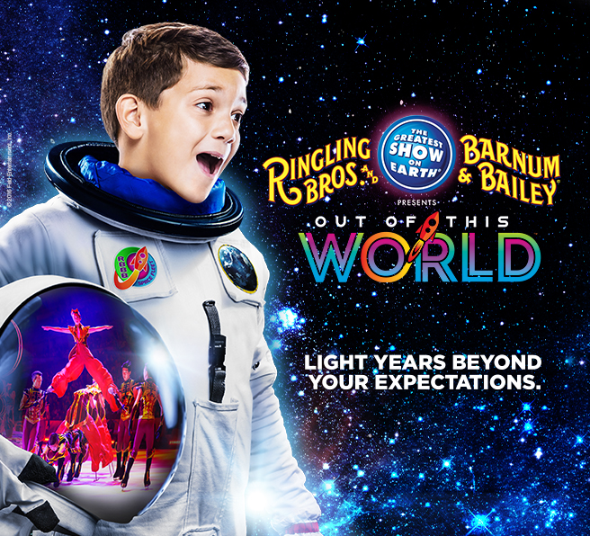 Ringling Bros. and Barnum & Bailey Presents Out Of This World™~Activity Sheets