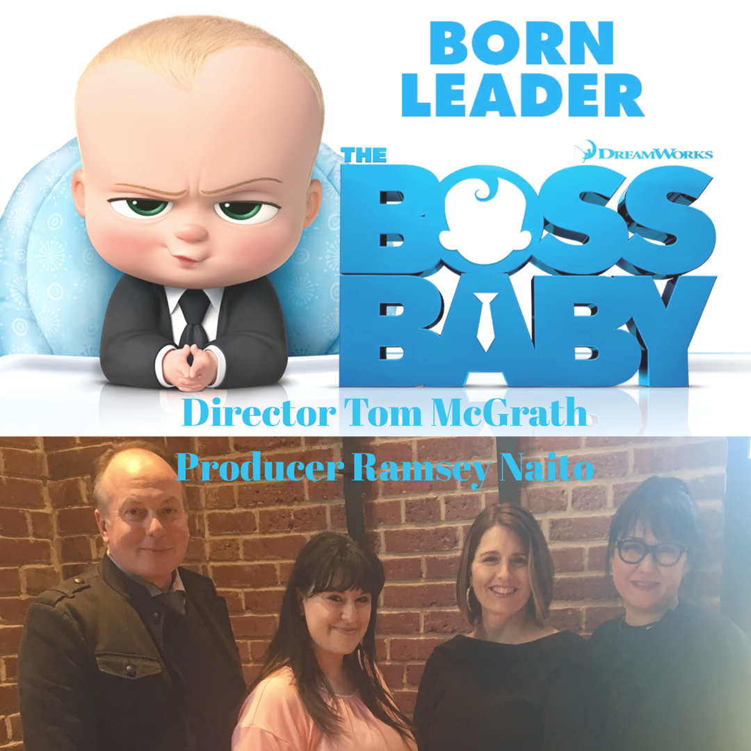 The Boss Baby~ Interview with Director & Producer/Review