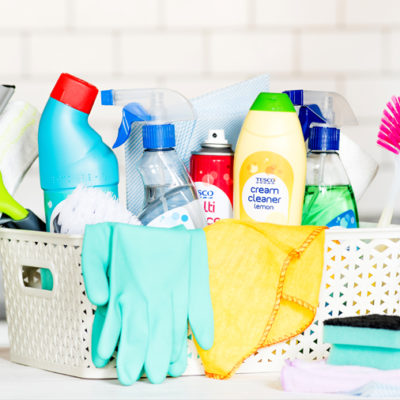 Spring Cleaning Tips & Hacks with Checklist!