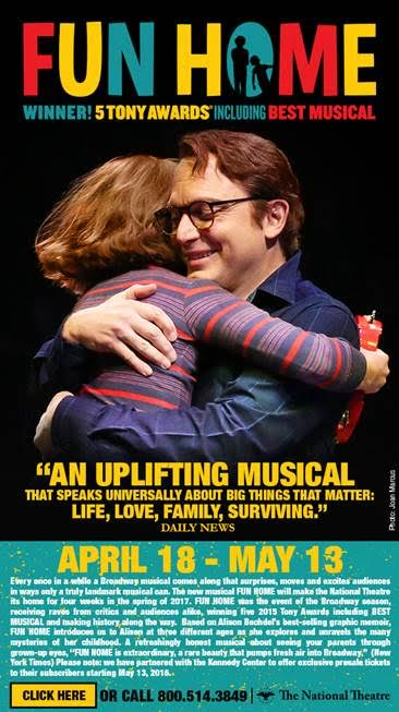 Fun Home at The National Theatre~Win A Parent's Night Out!