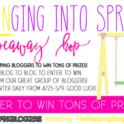 Swinging Into Spring Giveaway!