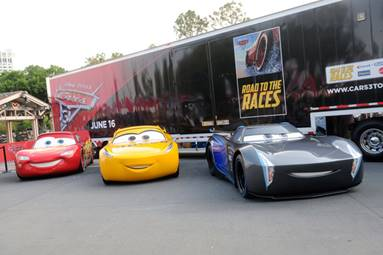 DISNEYPIXARS CARS Road To The Races Rolls Into DC Mom The - Cool mom cars