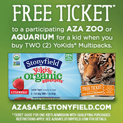 Stonyfield Partners With The AZA SAFE Program