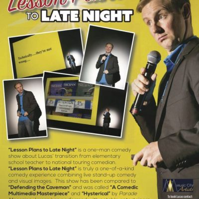 See Local Comedian, Lucas Bohn!