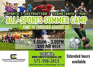 Summer Camp with Competitive Edge