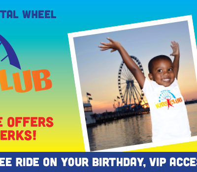 The Capital Wheel Kids Club + Giveaway!