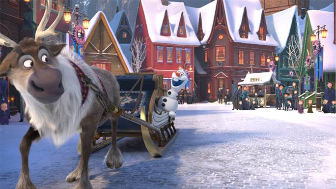Top Five Olaf's Frozen Adventure Movie2free - Circus