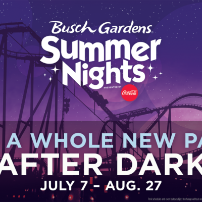 Busch Gardens Summer Fun Card & Summer Nights!