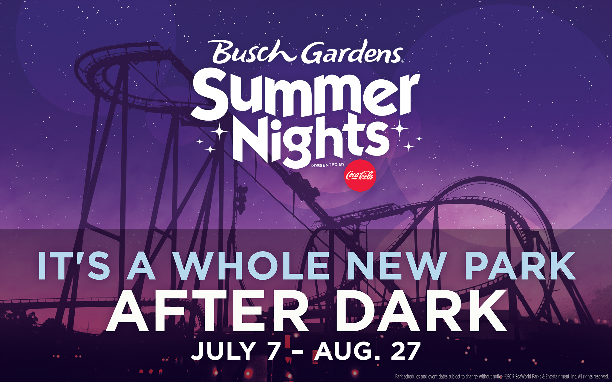 Charmant Busch Gardens® Williamsburg Is Giving Residents The Chance To Come And Play  All Summer Long With The Summer Fun Card For Only $60.