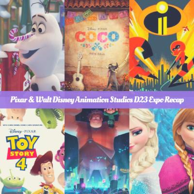 D23 Expo 2017~ Pixar & Walt Disney Animation Studios Recap