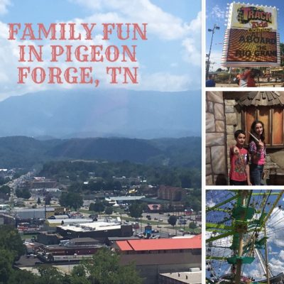 Top 8 Family Activities in Pigeon Forge, TN