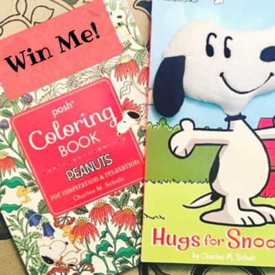 New Peanuts Books & Giveaway!