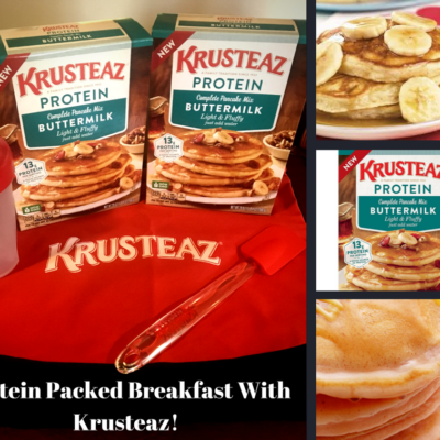 Protein Packed Breakfast with Krusteaz!