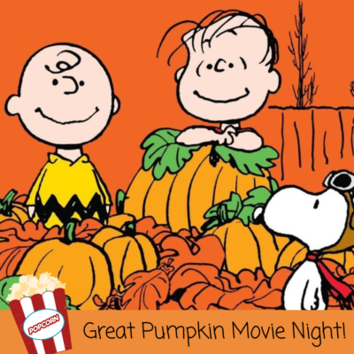Host A Great Pumpkin Movie Night!
