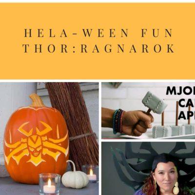 Hela-ween Fun With Thor: Ragnarok!
