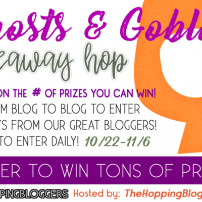 Ghost & Goblins Giveaway!