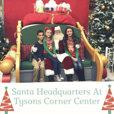 Santa HQ at Tysons Corner Center