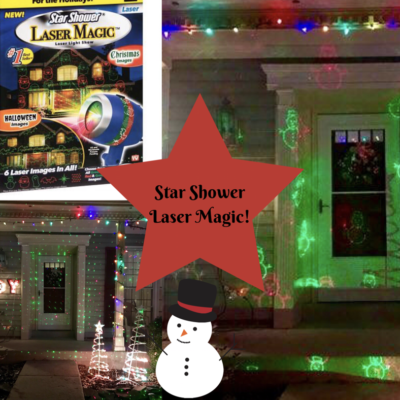 Show Your Christmas Spirit with the Star Shower!