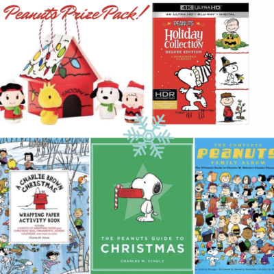 Peanuts Holiday Gift Guide ~ Win A Prize Pack!