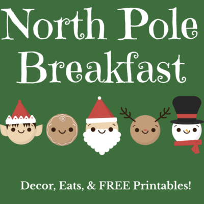 DIY North Pole Breakfast