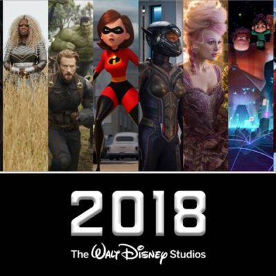 2018 Walt Disney Studios Motion Pictures ~ Magic at the Movies!