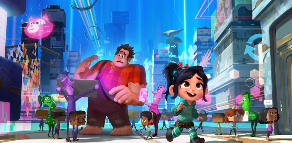 RALPH BREAKS THE INTERNET Activity Pages