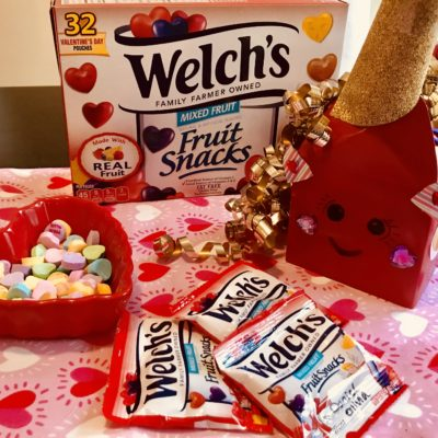Welch's Valentine's Day Pouches ~ Perfect Classroom Treat!