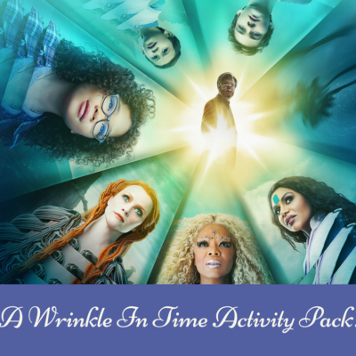 A Wrinkle In Time Activity Pack!