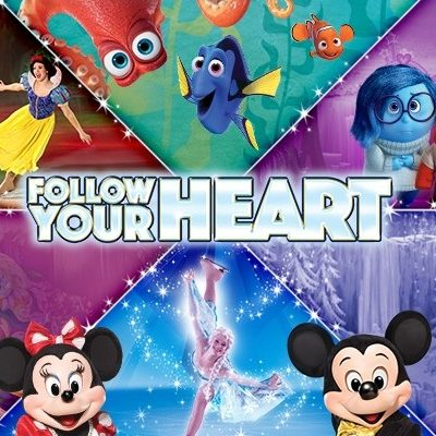 Disney On Ice presents Follow Your Heart is Coming to Fairfax!