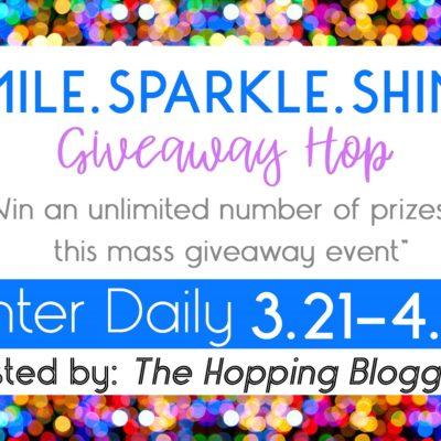 Smile. Sparkle. Shine. Giveaway!